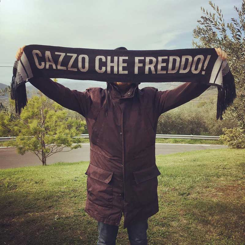 Sciarpa Cazzo che Freddo! Elvis Lives Roma