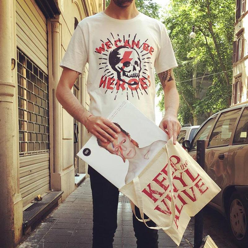 Maglietta Bowie
